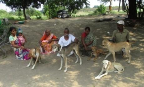 2015-09.Vadji villagers with sterilized dogs (5) - Copy