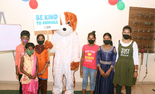 Students Pledge to Be Kind to All Animals